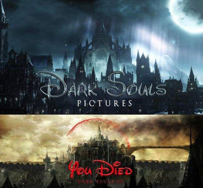 Dark Souls and Disney