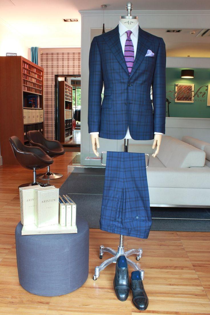 https://www.facebook.com/media/set/?set=a.10153501155614844.1073742506.94355784843&type=3  #fashion #style #menswear #mensfashion #mtm #madetomeasure #buczynski #buczynskitailoring #ariston #4stagioni #4seasons #suit #tailoring #checksuit #fancysuit