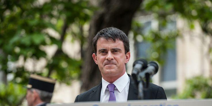 Manuel Valls apporte son soutien à Christiane Taubira en dénonçant des 'polémiques absurdes'