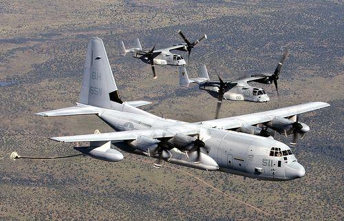 KC-130 Super Hercules Refueler