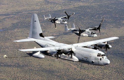 KC-130 Super Hercules Refueler