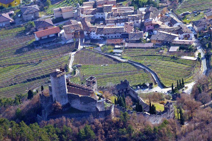 Castello D'Avio -  dal corno della paura