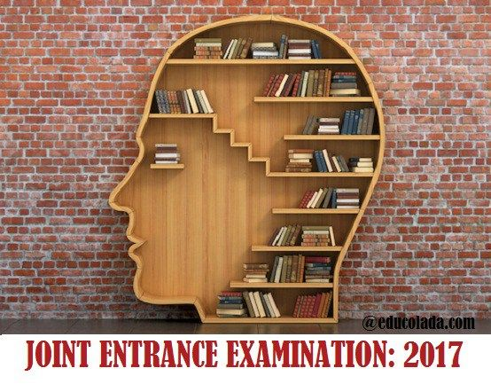 Joint Entrance Examination 2017