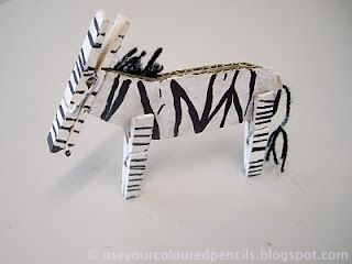 OK, I think this has been my most favourite project I've ever done with my students.   I love these zebras so muc...