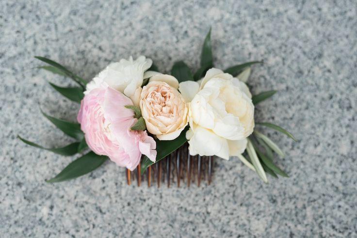 Pretty Summer Coral Peach Blush Wedding Flowers Utah | Calie Rose ...                                                                                                                                                     More