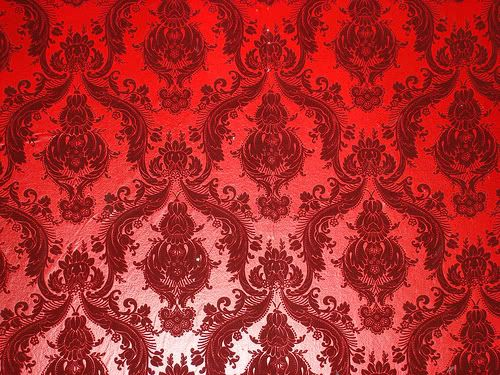 and red damask background - photo #15