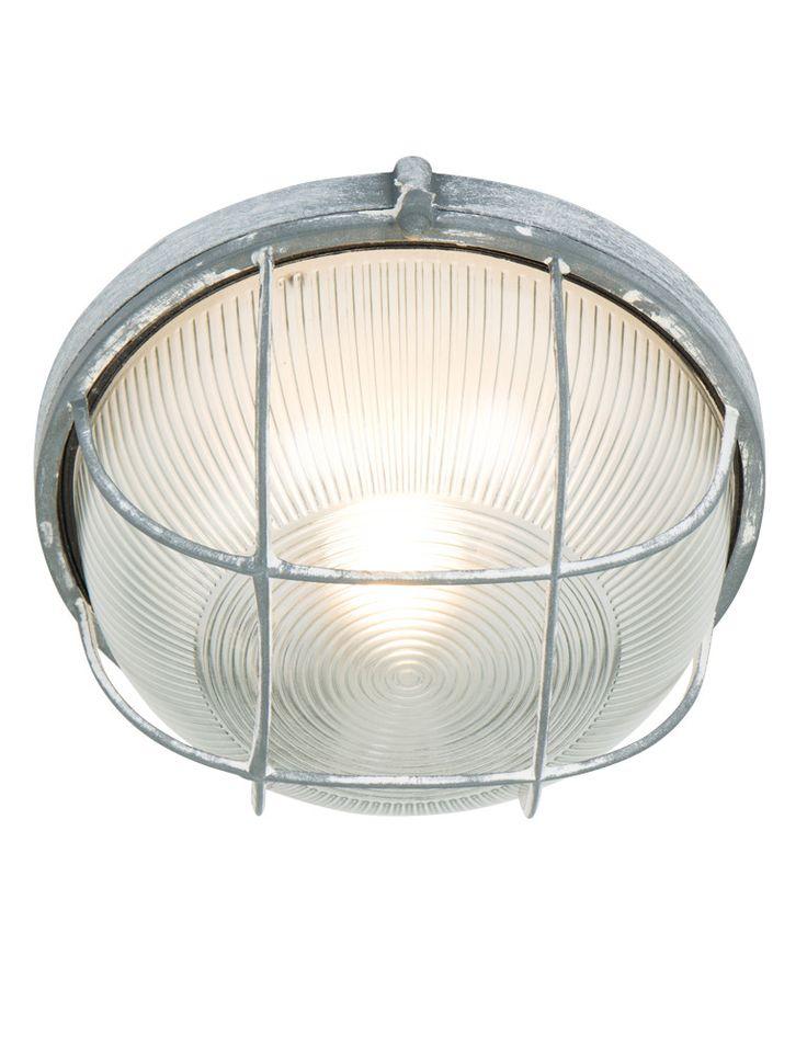 Industriele plafondlamp rooster