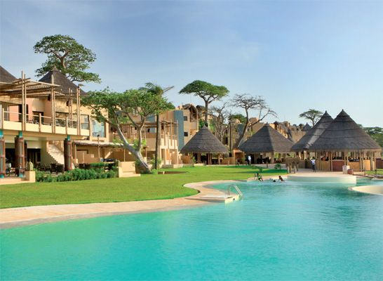 And for all of you who want to visit me you can stay in this hotel @Gambia