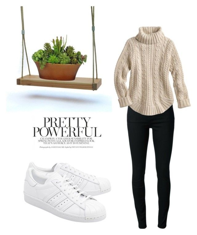 """Pretty Powerful"" by malin1234 on Polyvore featuring BLK DNM and adidas Originals"