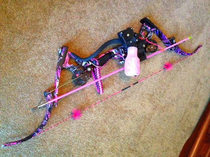Girl bow bowfishing bows pinterest birthday wishes for Bow fishing bows