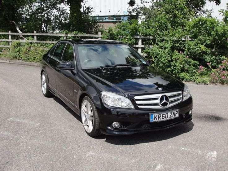 Mercedes-Benz C Class 3.0 C350 CDI BlueEFFICIENCY Sport 4dr Auto Saloon Diesel Black
