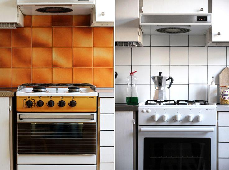 RAW Design -blogin keittiötuunaus maalin avulla.