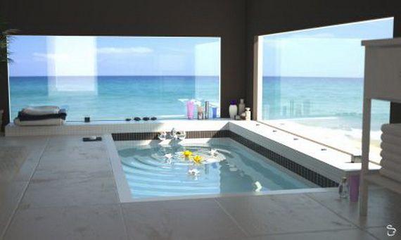 Best 25 spa bathroom design ideas on pinterest - Plaque mural salle de bain ...