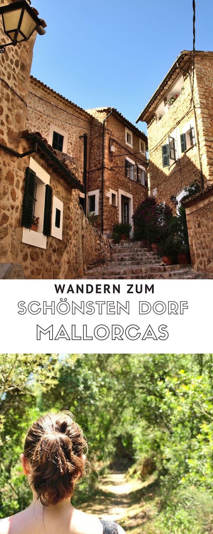 Mallorca Tipps - Wanderung zum schönsten Dorf Spaniens. Mit Blick auf die Bucht von Sóller.