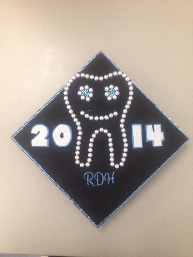 Dental Hygiene Graduation Cap Decoration College Days