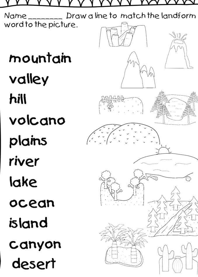 Volcano Worksheet Pdf - worksheet