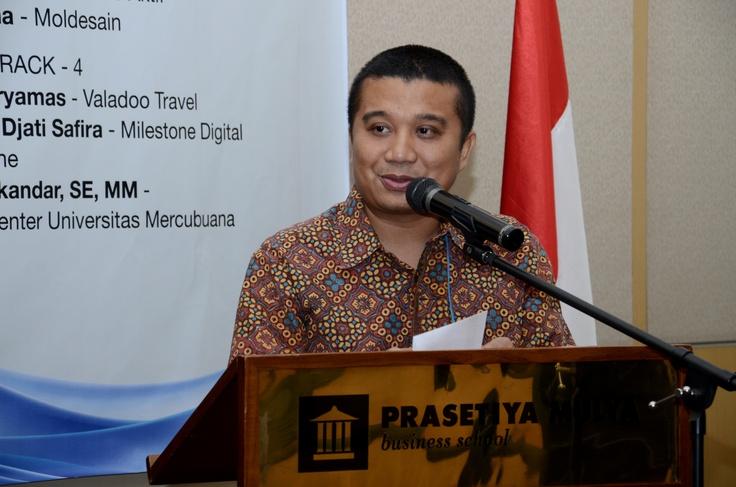 Keynote Speaker dari Apindo - Bp. Erwin Aksa