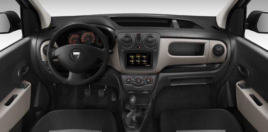 Dacia Dokker w środku