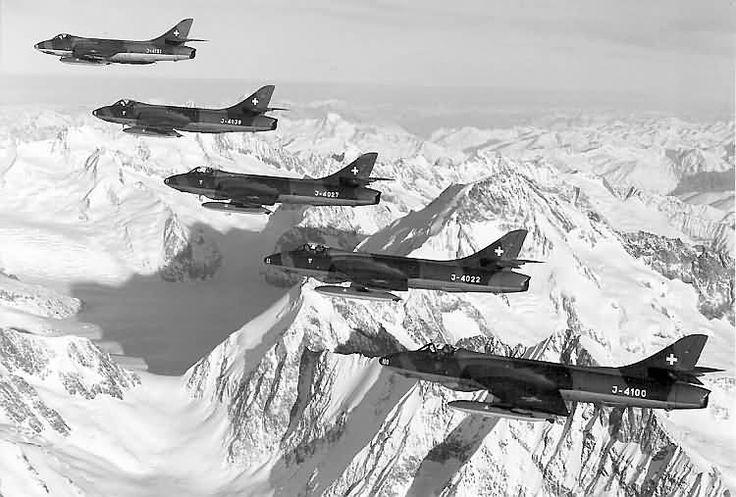 Hawker Hunter Swiss Air Force