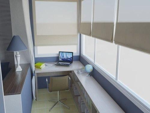 Декор балкона своими руками (фото)