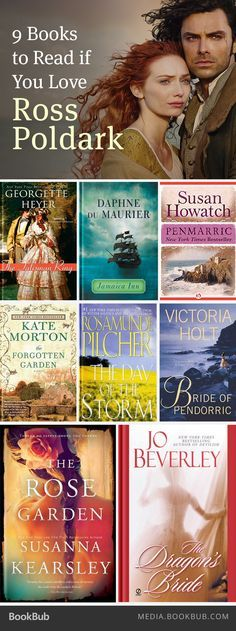 9 must-read books if you love Ross Poldark.