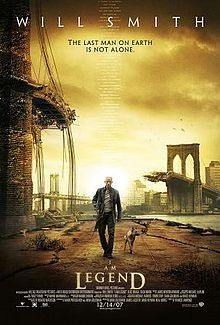 I Am Legend. A very suggestive future-movie taking place in New York in September 2012. I do not usually like future movies but this one is incredibly good. I saw it three days in a row. Watch it!