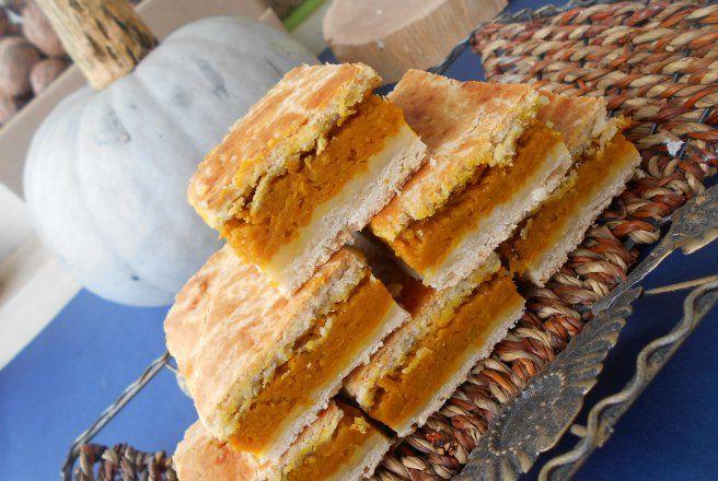 Retete Culinare - Placinta taraneasca cu dovleac