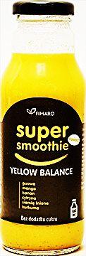 Koktajl owocowo warzywny SUPER Smoothie - Żółta równowaga