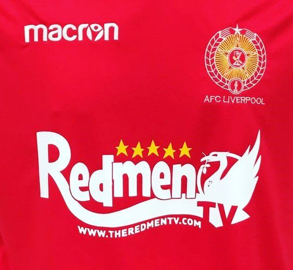 Buzzing to announce @theredmentv as our main sponsor for 2017/18. Up the reds   #liverpool #nonleague
