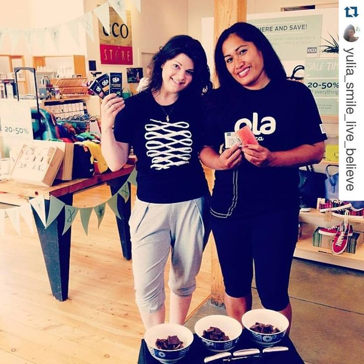 Yulia from the Eco Store sharing the Ola Pacifica love on Instagram