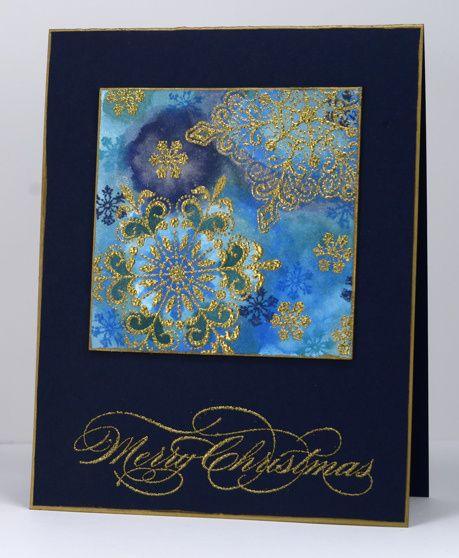 Gold Snowflakes Heather Telford