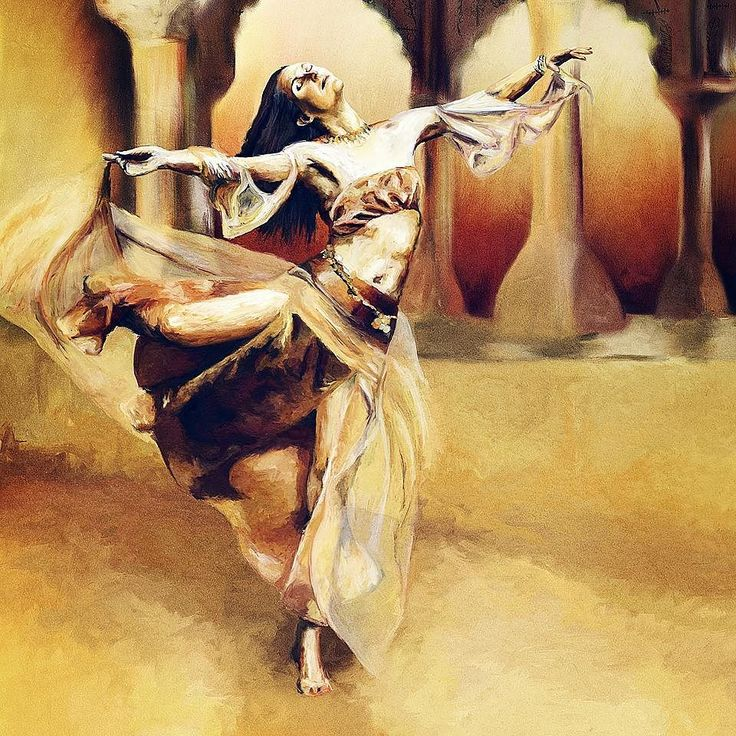 """My desert princess' first adventure: """" ...golden silks swirling around her loath to intrude upon her moment of freedom. """" You can see her in all her large A0 framed glory at the NZ Art Show in Wellington over Queen's Birthday Weekend!"""