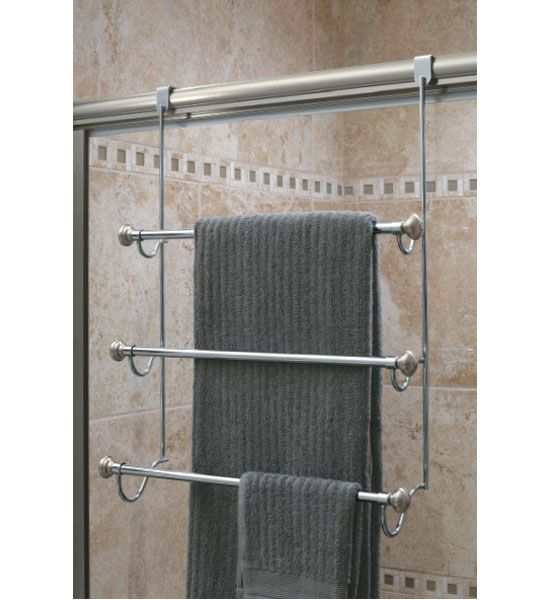InterDesign Over the Door Towel Rack Image