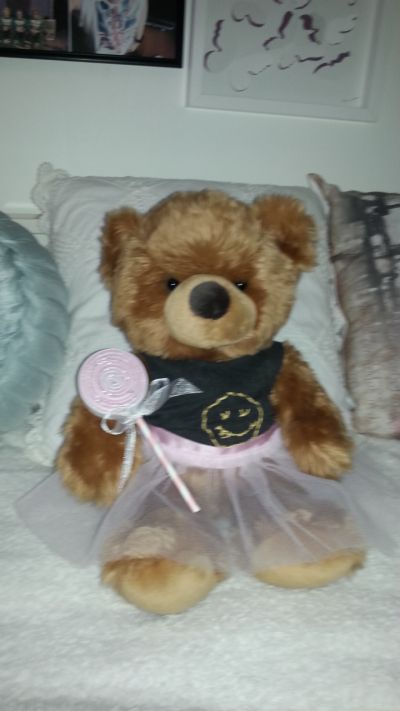 Luke Hemmings tutu for teddy bears. 5sos. DIY