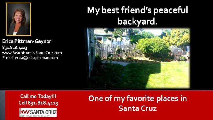 Backyards in Santa Cruz  https://gp1pro.com/USA/CA/Santa_Cruz/Santa_Cruz/418_Pacheco_Ave.html  Backyards in Santa Cruz - My best friend's backyard is one of our favorite places to relax and enjoy each other's company. The tranquil setting, birds, flowers and all around layout of this property are amazing. If you want to know what to plant here, it's limitless. There's nothing better than being able to go out into your backyard and pick a vase full of flowers, fresh lemons etc. The key to a…