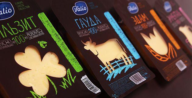 Verpackung mit Durchblick: Neue Optik für den Käse von Valio