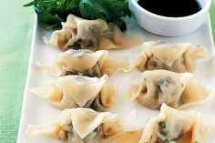 steamed dumplings.