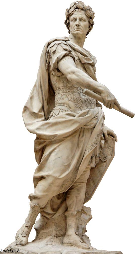 Julius Ceasar. Nicolas Coustou. Louvre Museum.