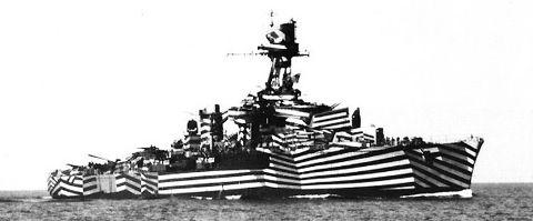 EntreMentes: A camuflagem de navios