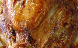 Carolina Ferraz ensina a fazer delicioso peru de natal. Esta receita está no livro 'Cozinha das Estrelas' da editora Globo