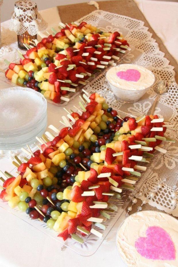 Wedding Food Fruit Bridal Shower Bridal Shower Snacks Bridal