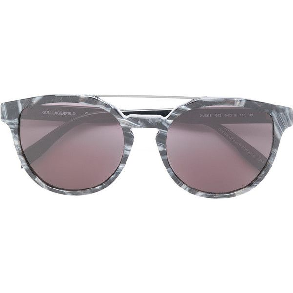 Karl Lagerfeld Bar Cameo sunglasses (191 CAD) ❤ liked on Polyvore featuring accessories, eyewear, sunglasses, grey, round sunglasses, karl lagerfeld eyewear, karl lagerfeld, grey glasses and karl lagerfeld glasses