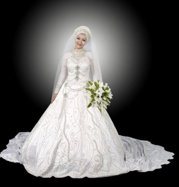 Arabic Wedding Dresses Collection 2014 In Dubai Weddingdresses Bridaldresses Arabicwedding