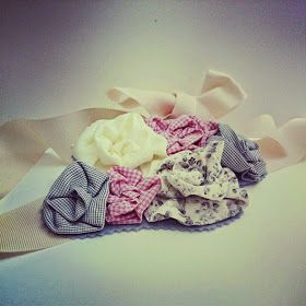 mú mio...: Cinturón DIY de flores