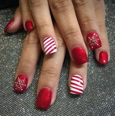 nails art christmas elegant 16 super ideas  christmas