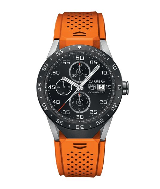 TAG Heuer Connected TAG HEUER CONNECTED IP67 splash-proof - 46 mm SAR8A80.FT6061 TAG Heuer watch price