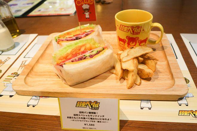 「ザ・ゲストカフェ&ダイナー(THE GUEST cafe&diner)」が、渋谷パルコから池袋パルコに移転オープンする。オープニング企画として「弱虫ペダル」とコラボレーションしたカフェが、9月1日から10月11日までの期間限定で開催される。