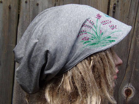 Newsboy Slouchy Hat With Visor Slouchy Hat Cotton Hat Head