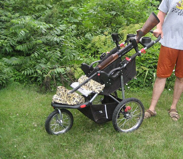 12 Best Images About Jogging Stroller Converted Fishing
