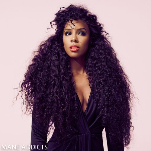 Snapshot: Kelly Rowland by Mike Rosenthal for Mane Addicts